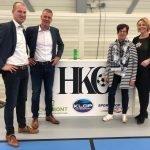 Met dank aan sponsor 'Man of the World' trainers/coaches HKC in mooi tenue