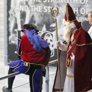 Sinterklaas en Piet kwamen ook bij de Kangoeroes
