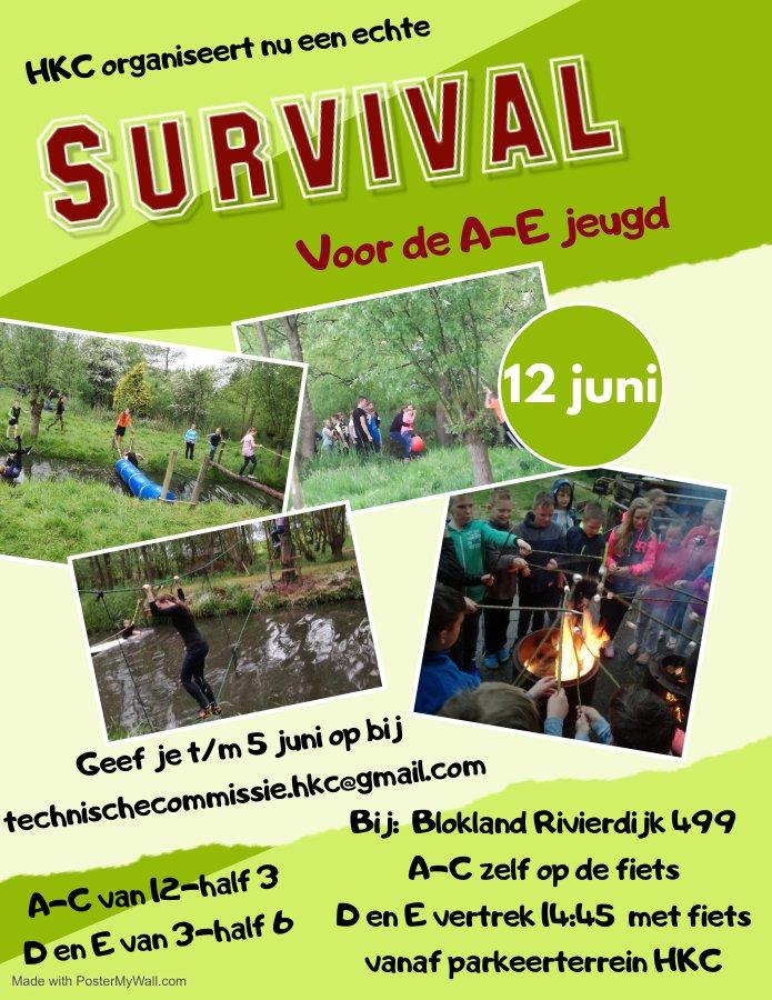 Survival (A- t/m E-jeugd)